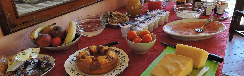 Colazione dolce e salata – il Cavicchio Agriturismo Bologna